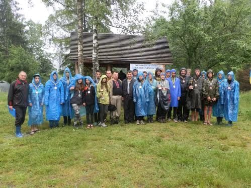 Учні Прикарпаття взяли участь у Чемпіонаті з туристичних походів