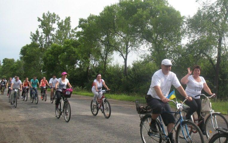 На Рожнятівщині відбувся велопробіг (ФОТО)