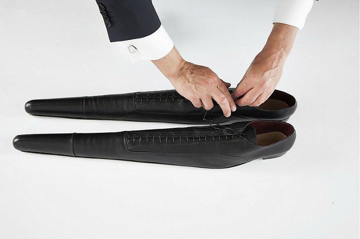 Дизайнер створила туфлі, які сповільнять темп вашого життя у великому місті (ФОТОФАКТ)