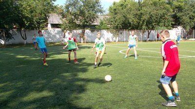 У Франківську проходять змагання з дворового футболу