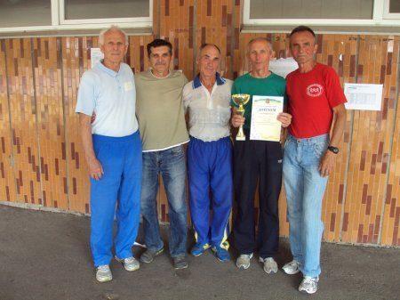 Прикарпатці зайняли третє місце у VI Всеукраїнських іграх ветеранів спорту з легкої атлетики