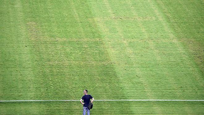 Не одразу помітна свастика на полі перед матчем з Італією коштувала Хорватії очка на Євро-2016