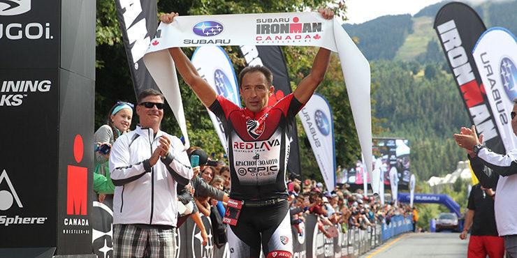 Українець Віктор Земцев переміг на чемпіонаті Ironman Canada (ФОТОФАКТ)