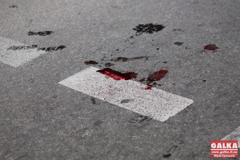 """На Надрічній машина на іноземних """"бляхах"""" збила пішохода та втекла з місця ДТП"""