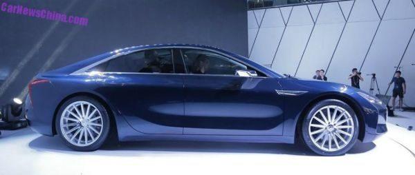 Електромобіль Tesla отримав китайського конкурента