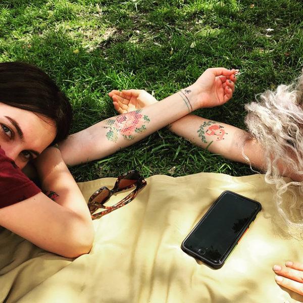 Майстер татуювань з Анкари створює приголомшливі тату хрестиком (ФОТО)