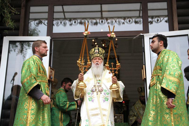 Патріарх Філарет заявив про початок формування в Україні єдиної помісної церкви
