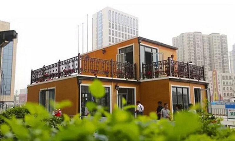 У Китаї за кілька годин надрукували повноцінну двоповерхову віллу (ФОТО, ВІДЕО)