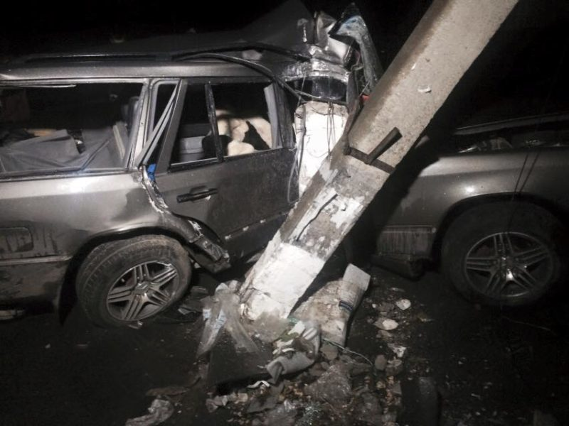 З'явилося відео з місця аварії, яке вчинив п'яний даішник (ВІДЕО)