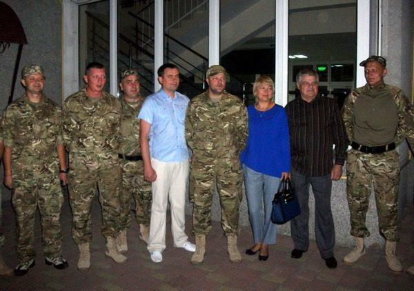Семеро податківців з Прикарпаття поїхали в АТО