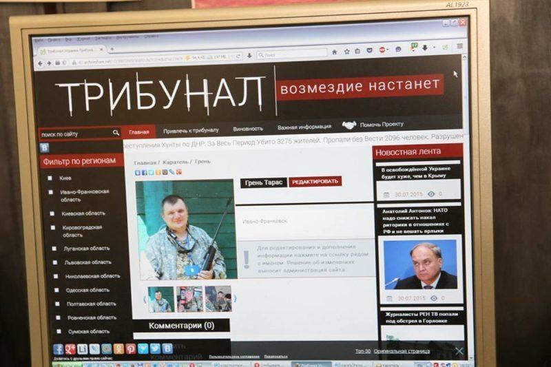 Терористи обрали за свою ціль військового журналіста з Прикарпаття (ФОТО)