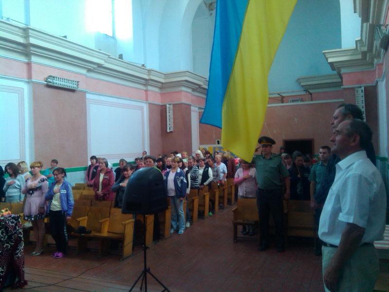 Засуджені Прикарпаття молилися за Україну та слухали патріотичні лекції(ФОТО)