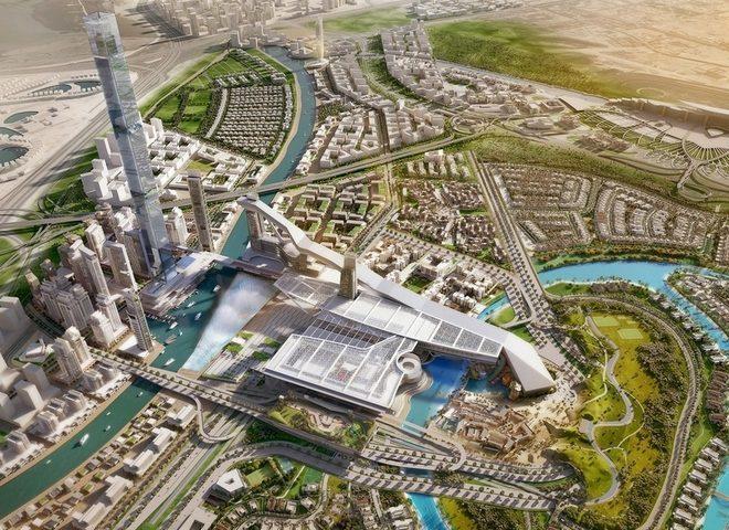 Новий житловий проект в Дубаї націлений на 5 світових рекордів (ФОТО)