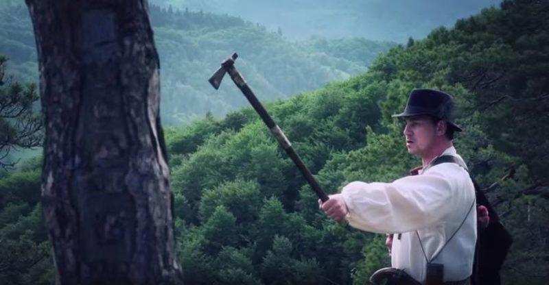 """Франківців запрошують на показ фільму """"Легенда Карпат"""", де Харчишин грає Довбуша"""