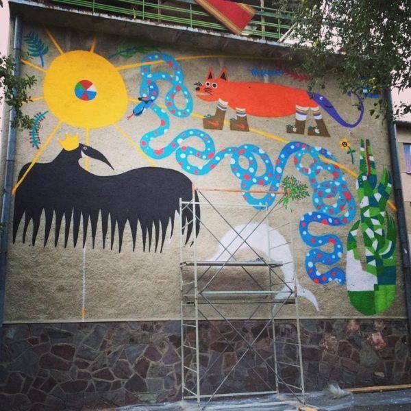 Другий в місті мурал з'явиться на стіні дитячої лікарні (ФОТО)