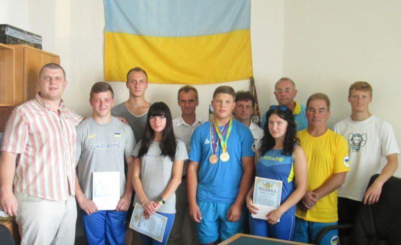 Прикарпатських спортсменів привітали після змагань у Швеції та Колумбії