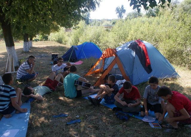 На Прикарпатті відбувся духовно-екологічний табір для дітей (ФОТО)