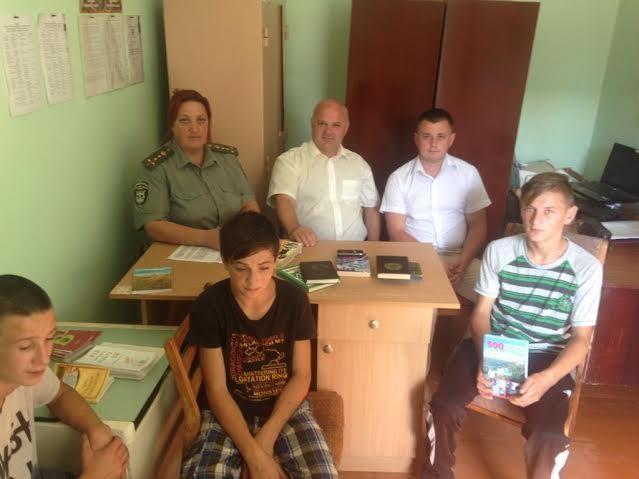 Неповнолітніх засуджених знайомили з творчістю Дереша, Винничука і Забужко