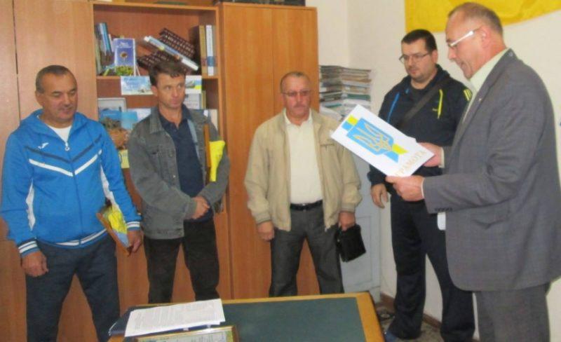 Прикарпатських спортсменів із дзюдо відзначили грамотами