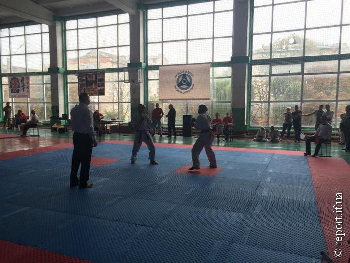 У Франківськ на змагання завітали 150 юних каратистів із дев'яти міст України