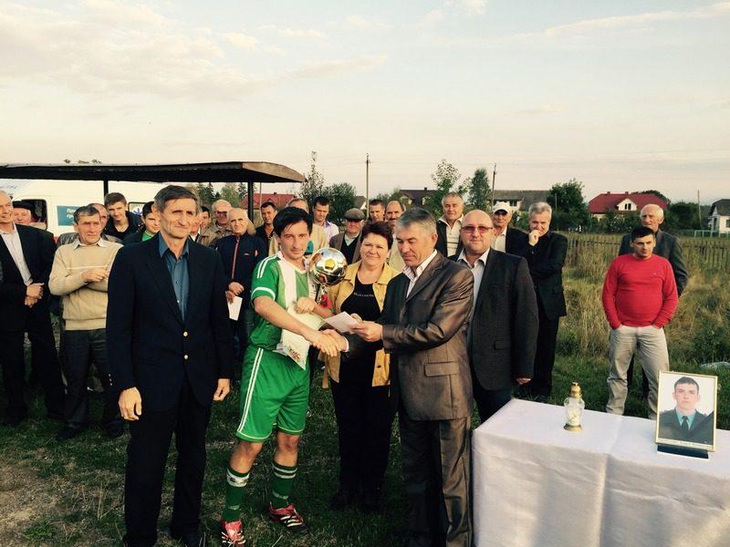 На Прикарпатті турнір з футболу приурочили пам'яті загиблих бійців АТО (ФОТО)