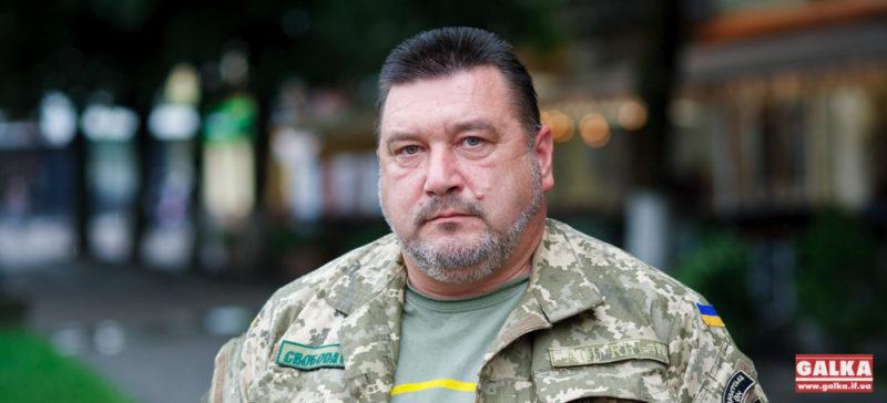 """Командир """"Карпатської Січі"""" Олег Куцин: «Для націоналістів мир можливий в одному випадку – коли ми переможемо»"""