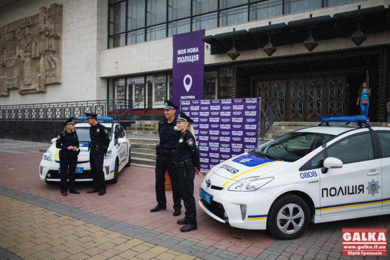 Кандидатам до патрульної поліції Франківська треба готуватися до підтягувань і човникового бігу