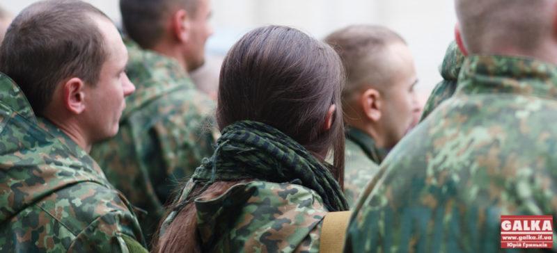 Коломиянки йдуть служити в армію (ВІДЕО)