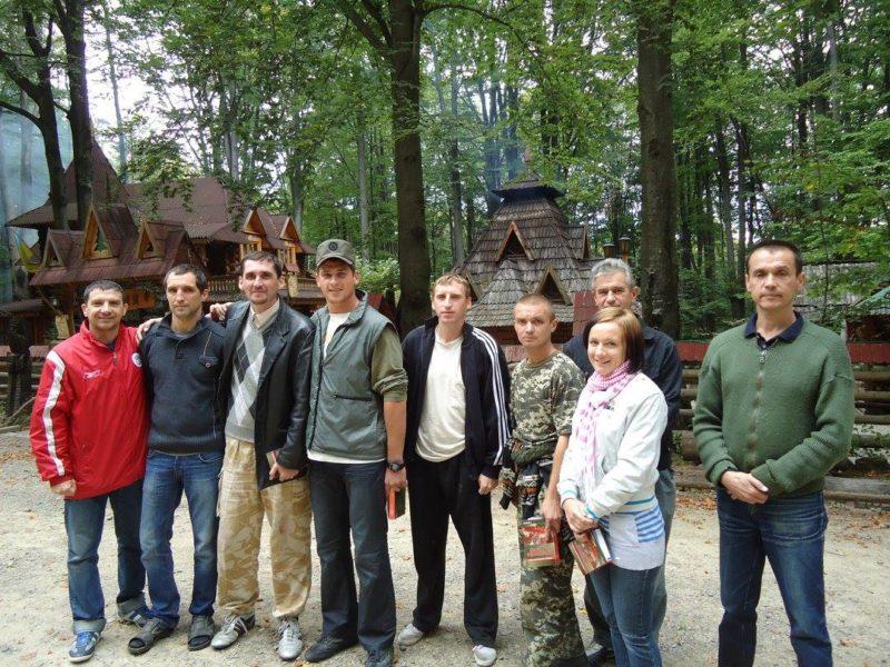 Учасники АТО із Запорізької області відпочивали у Гошеві