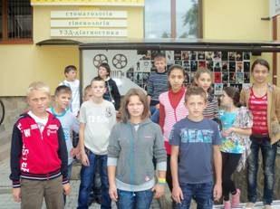 На Прикарпатті вихованці школи-інтернату відвідали музей та кінотеатр