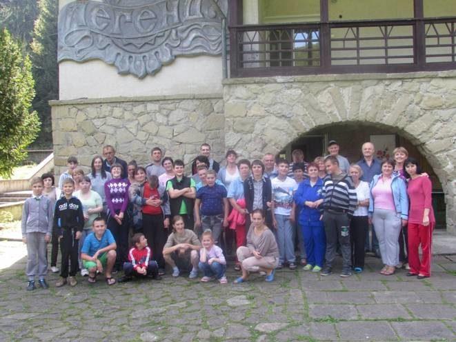Неповносправні прикарпатці відпочивали у Карпатах (ФОТО)