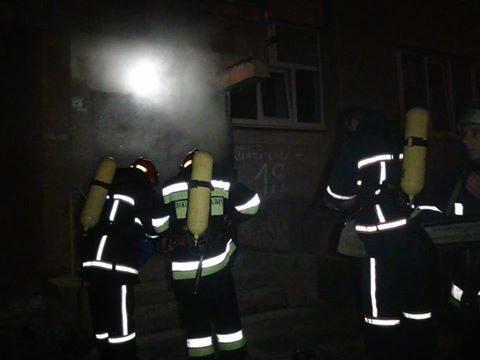 В ніч на неділю на пожежі в центрі міста загинув невідомий