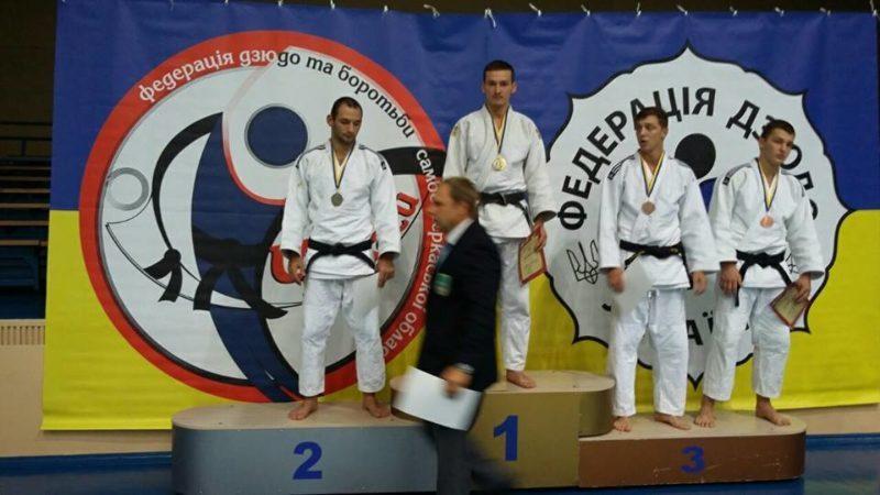Прикарпатці привезли три нагороди з Чемпіонату України з боротьби дзюдо