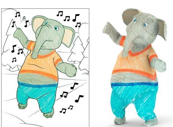 """Компанія Disney розробила додаток для мобільного пристрою, що """"оживляє"""" дитячий малюнок"""