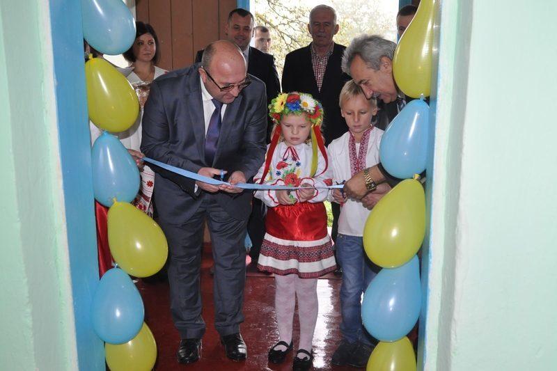 В одному із сіл Прикарпаття відкрили дошкільну групу й планують будувати школу (ФОТО)