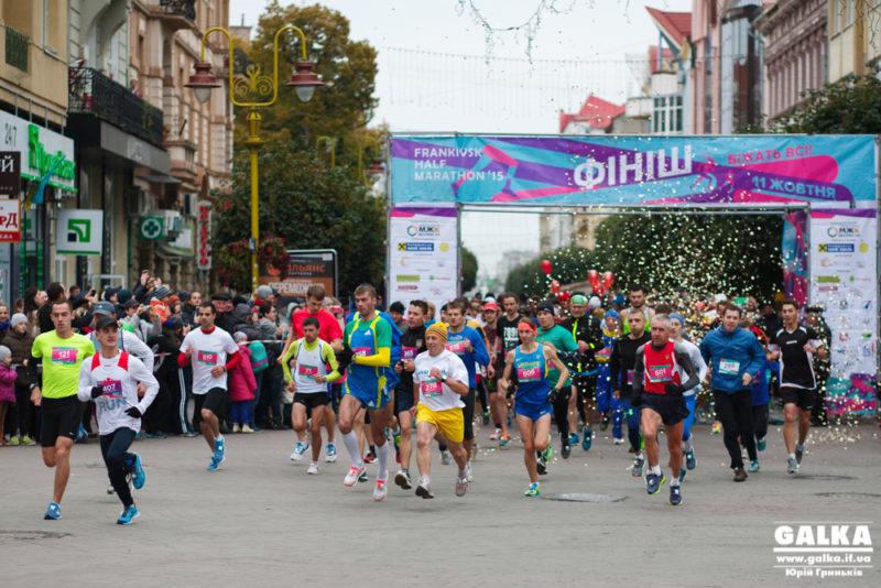 Яскраві світлини спортивного свята Frankivsk Half Marathon (ФОТОЗВІТ)
