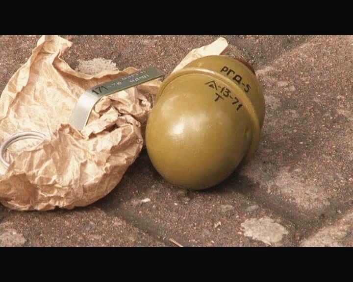 В ніч на п'ятницю у центрі Франківська підірвали гранату