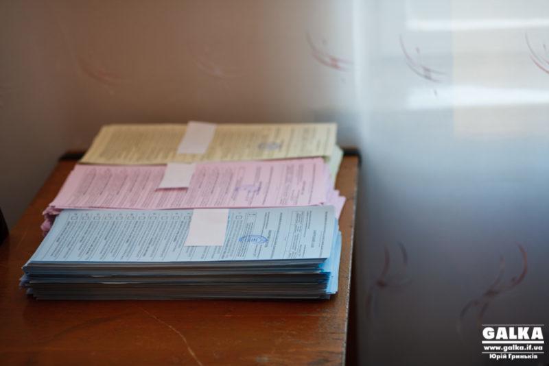 На Прикарпатті знищили бюлетень без рішення ТВК