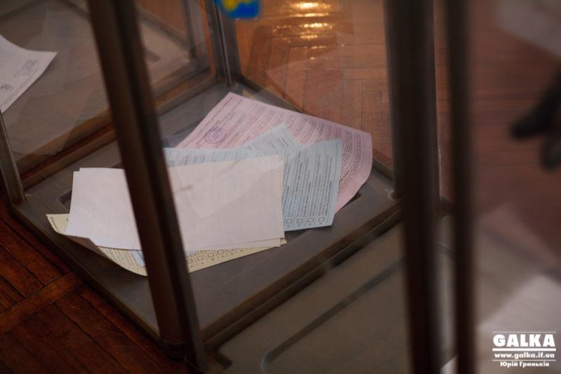 На Прикарпатті голова ДВК виносила бюлетені за межі приміщення для голосування