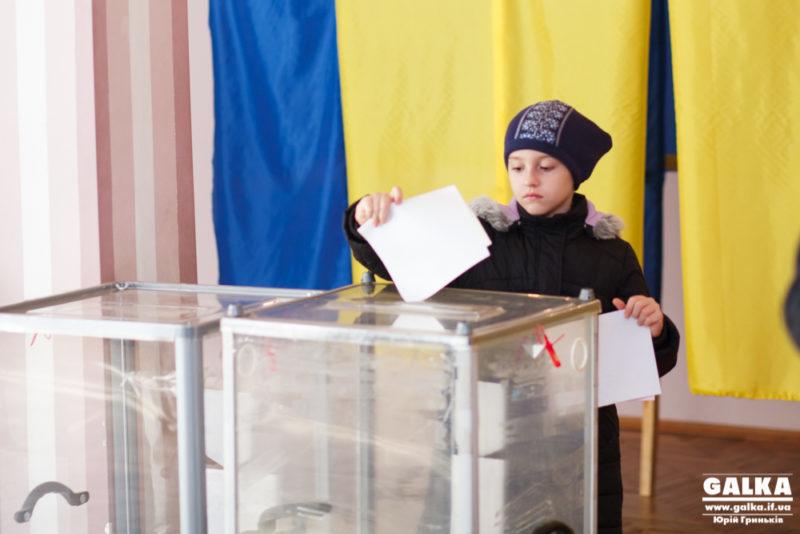 В Івано-Франківську станом на 13:00 середня явка перевалила за 20% (ОНОВЛЕНО)