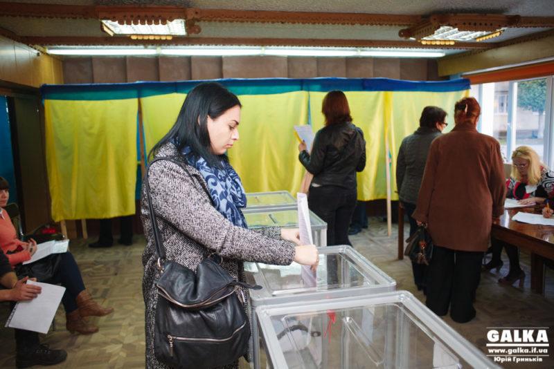 Явка виборців на Франківщині становить 52,85%, – ЦВК