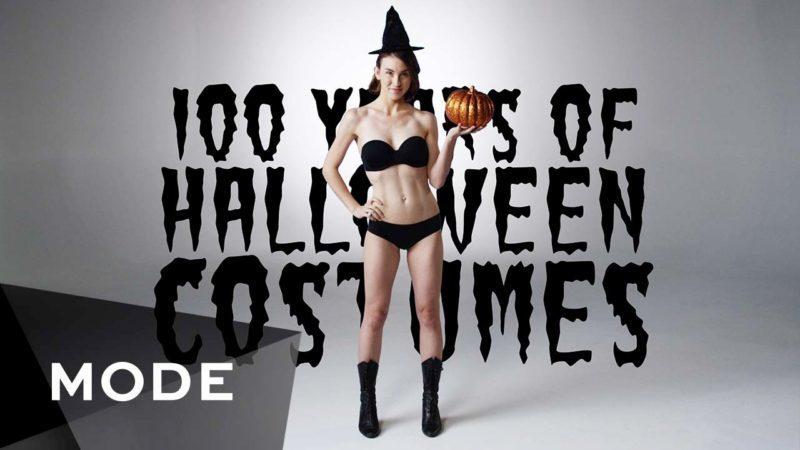 На відео показали еволюцію костюмів на Хелловін (ВІДЕО)
