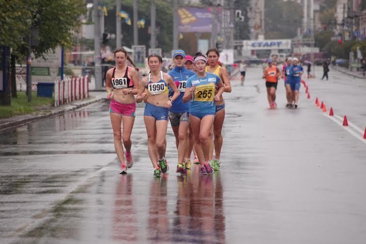 Франківські спортсмени здобули перемоги на змаганнях зі спортивної ходьби