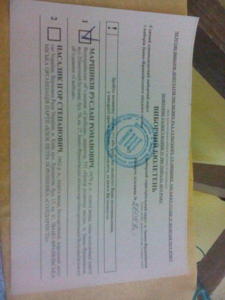 ТВК опрацювала усі протоколи з дільниць: Марцінків переміг Насалика на більш ніж 8,5 тисяч голосів