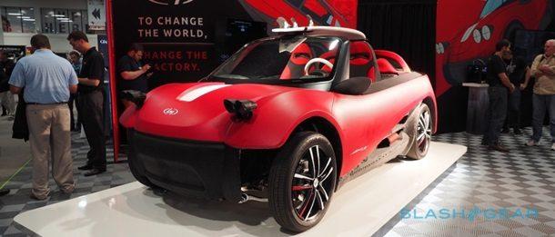Надрукований на 3D-принтері електромобіль показали в Лас-Вегасі (ФОТО, ВІДЕО)