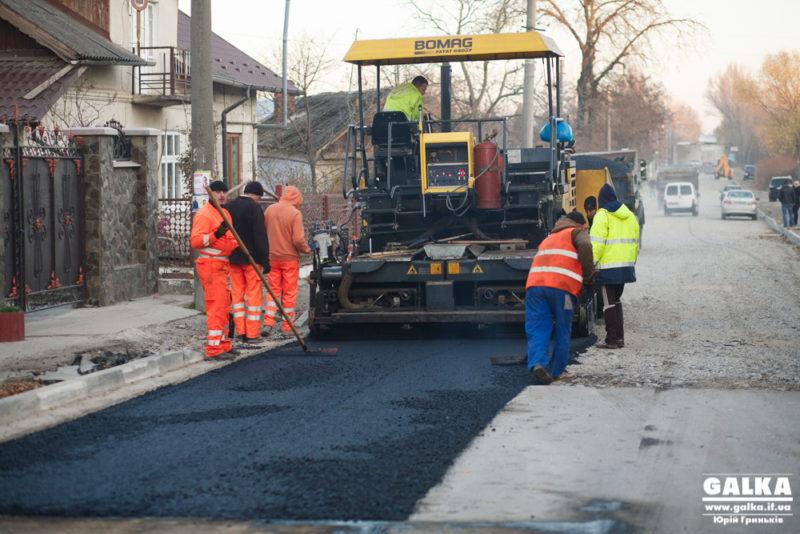 Ремонт вулиці Дудаєва вийшов на фінішну пряму (ФОТО)