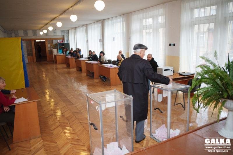 В місті проголосували вже понад 9 тисяч іванофранківців