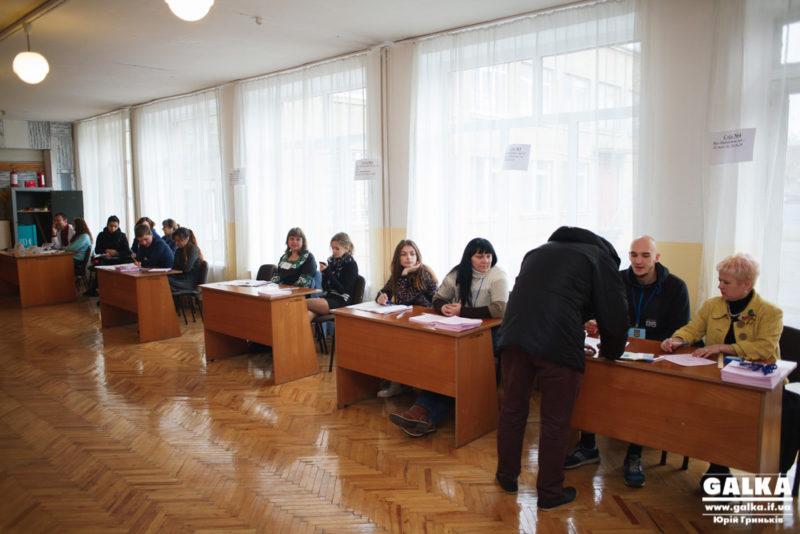В Івано-Франківську найактивніше голосують в геріатричному пансіонаті, найповільніше – на БАМі