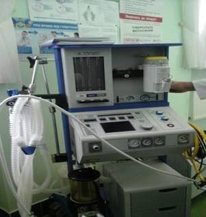 Одна із лікарень Прикарпаття отримала наркозно-дихальний апарат, який коштує більше одного мільйона гривень