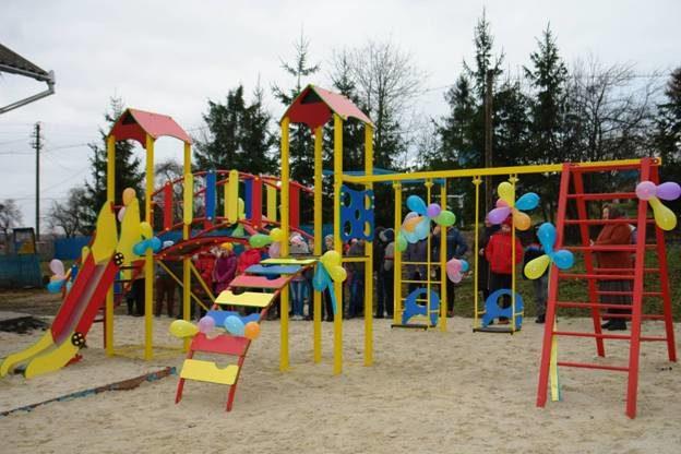 На Прикарпатті відкрили новий цікавий ігровий майданчик (ФОТО)